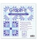 Graph-It Quilt Designer\u0027s Graph Paper