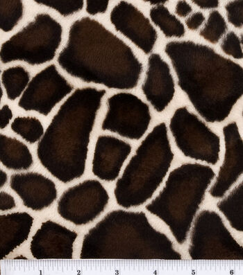 Faux Fur Velboa Fabric -Animal Print