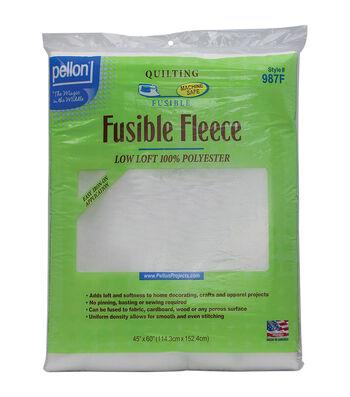Pellon White Fusible Fleece