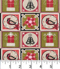 Christmas Cotton Fabric -Christmas Patches