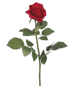 "Bloom Room 27.5"" Confetti Rose Stem-Red"