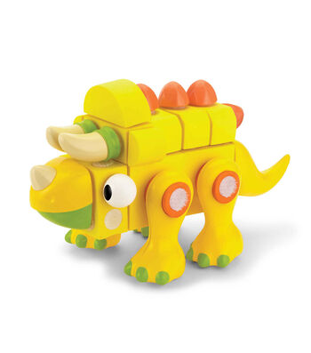 Velcro Brand Blocks Triceratops