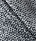Cosplay By Yaya Han Metallic Textured Scales Fabric 51\u0022-Silver
