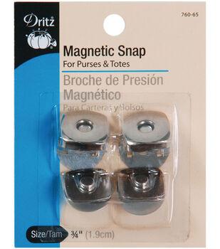 Prym Dritz Square Magnetic Snaps Nickel