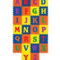 Carpet Tiles, Alphabet, 12\u0022 x 12\u0022, 26 Count