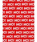 Holiday Showcase Christmas Cotton Fabric 43\u0027\u0027-Ho! Ho! Ho! on Red