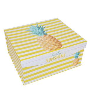 Organizing Essentials Large Fliptop-Pineapple