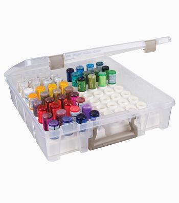 """ArtBin Super Satchel w/Glitter Glue Trays-15""""X14""""X3.5"""""""