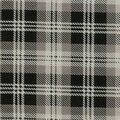 Christmas Cotton Fabric-Holiday Black Plaid