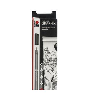 Marabu Graphix Black Fineliner Set