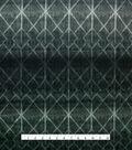 Loungeletics Performance Knit Fabric 31\u0022-Black & White Diamond Print