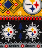 Nfl Pittsburgh Steelers Fair Isle Flc, , hi-res
