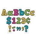 Teacher Created Resources 4\u0027\u0027 Chalkboard Bold Block Letters-Brights