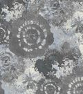 Keepsake Calico Cotton Fabric 44\u0027\u0027-Silver Tie Dye