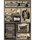 Karen Foster Music Stickers-Marching Band