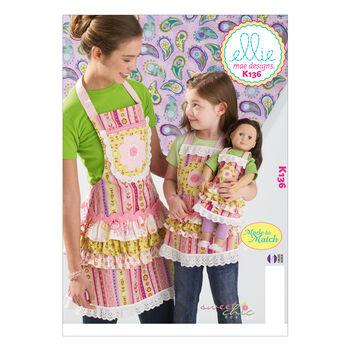 Kwik Sew Mother & Daughter Aprons-K0136