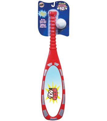 Poof-Slinky Boom Bat Baseball Set