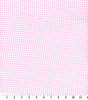 Snuggle Flannel Fabric -Gingham