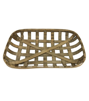 Simply Autumn Storage Basket-Tobacco Brown