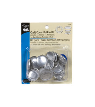 Dritz Craft Cover Button Kit Size 45