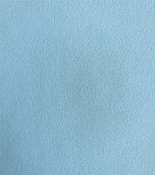 Stretch Crepe Knit Fabric-Powder Blue Solids