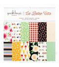 Park Lane Paperie 24 pk 12\u0027\u0027x12\u0027\u0027 Printed Cardstock-La Dolce Vita