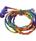 Pretty Twisted Headphone Wrap DIY Kit W/Earphones-Electronic