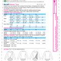 Kwik Sew Pattern K4187 Misses\u0027 Tulip-Overlay Tops-Size XS-S-M-L-XL