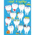 Creative Teaching Press I Lost a Tooth Chart 6pk