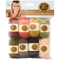 Lion Brand Vanna\u0027s Palette Bonbons Yarn 8/Pkg- Earthy