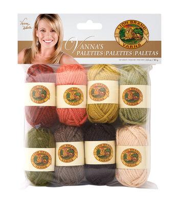 Lion Brand Vanna's Palette Bonbons Yarn 8/Pkg- Earthy