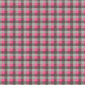 Super Snuggle Flannel Fabric-Pink & Gray Buffalo Check