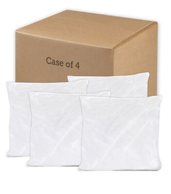 "Poly-Fil Premier 22"" Square Pillows-Case of 4"