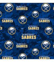 Buffalo Sabres Fleece Fabric-Digital Camo, , hi-res