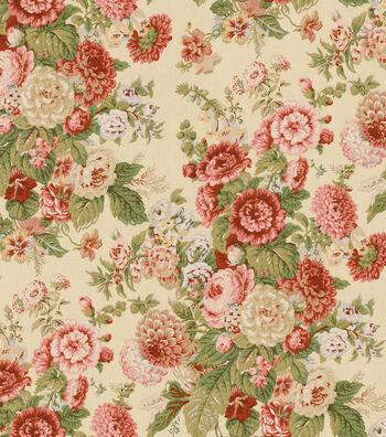 """Waverly Multi-Purpose Decor Fabric 54""""-Sitting Pretty Antique"""
