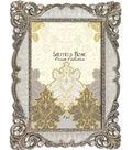 Sheffield Home Jeweled Frame 4x6-Ivory