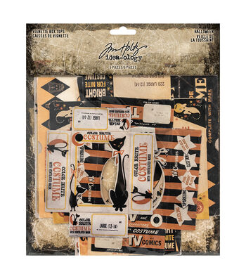 Tim Holtz Idea-ology Halloween-Vignette Box Tops