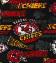 Kansas City Chiefs Fleece Fabric -Retro, , hi-res