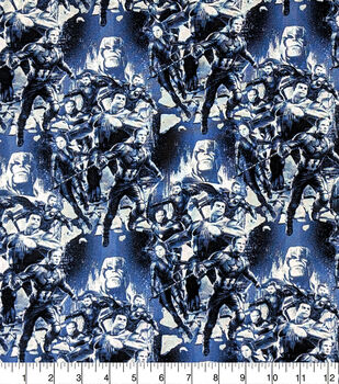 Avengers Cotton Fabric-Characters