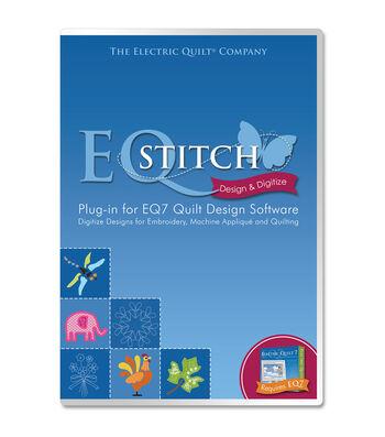 EQStitch Plug-In For EQ7 Quilt Design Software