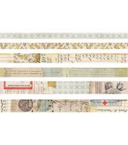 Tim Holtz Idea-ology 6 pk Design Tapes-Salvaged, , hi-res