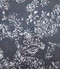Printed Denim Fabric 57\u0027\u0027-Damask