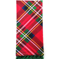 Handmade Holiday Christmas 16\u0027\u0027x26\u0027\u0027 Cotton Towel-Tartan