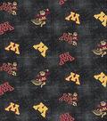 University of Minnesota Gophers Flannel Fabric 42\u0022-Distressed Logo
