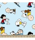 Peanuts Print Fabric-Snoopy and Friends