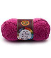 Lion Brand 24/7 Cotton Yarn, , hi-res