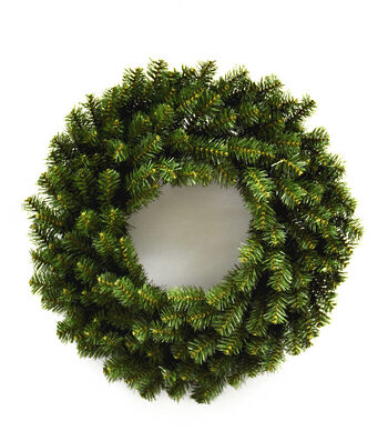 Blooming Holiday Christmas 24'' PVC Pine Wreath
