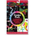 Melissa & Doug Scratch Art Board Set 6\u0022X10\u0022 4/Pkg-Combo Pack
