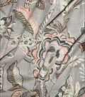 Waverly Designer Upholstery Fabric 54\u0022-Key of Life Blush