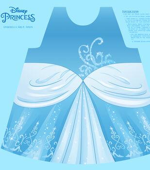 Disney Princess Cinderella Cotton Girl's Apron Panel Fabric